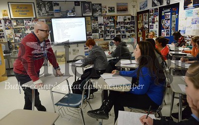 23492  Jim Lucot, an SV teacher who is consistenly doing new and crazy things in the classroom