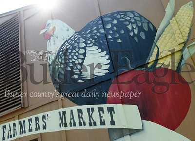Harold Aughton/Butler Eagle: The City of Butler Farmers' Market opened Saturday, May 25. The market will open every Saturday throught the end of October from 8:00 a.m. - 1:00 p.m.