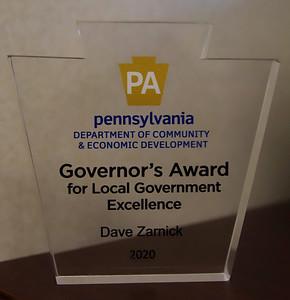Dave Zarnick award. 11/06/20