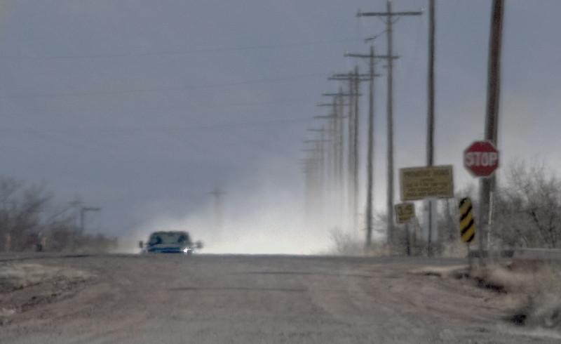 23 Feb: Pickup; poles...