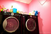 """Tuesday January 26, 2010  Doing laundry at Ami's salon because our dryer is broken.  <a href=""""http://www.timnosenzophoto.com"""">connecticut photographer - tim nosenzo photography</a>"""