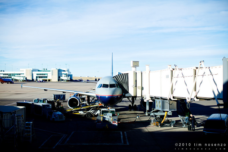 Saturday January 30, 2010<br /> <br /> My ride home from Denver.