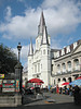 """ God and Mammon at Jackson Square"" - Daily Photo - 10/21/12"