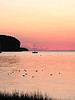"""Think Pink for the Sisterhood"" - Daily Photo - 10/27/12<br /> <br /> Tranquil (actual color of the sunset at Door County, Wisconsin)<br /> <br /> I thought I'd do a weeks worth of ""pink"" pictures in response to the challenge, the last seven days of the month for ""breast cancer awareness""."
