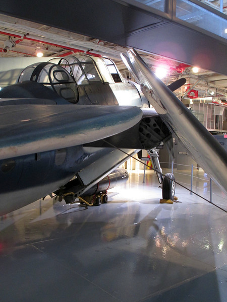 """""""Avenger from behind - USS Intrepid"""" - Daily Photo - 06/15/13<br /> <br /> Like the light and the way the wings are positioned, hope you enjoy!  Have a good weekend and thanks for your comments, much appreciated.<br /> <br /> <br /> <a href=""""http://www.history.navy.mil/faqs/faq10-2.htm"""">http://www.history.navy.mil/faqs/faq10-2.htm</a><br /> <br /> The President of the United States takes pleasure in presenting the<br /> <br /> DISTINGUISHED FLYING CROSS TO LIEUTENANT, JUNIOR GRADE, GEORGE HERBERT WALKER BUSH UNITED STATES NAVAL RESERVE<br /> <br /> for service as set forth in the following <br /> <br /> CITATION: """"For heroism and extraordinary achievement in aerial flight as Pilot of a Torpedo Plane in Torpedo Squadron FIFTY ONE, attached to the U.S.S. San Jacinto, in action against enemy Japanese forces in the vicinity of the Bonin Islands, on September 2, 1944. Leading one section of a four-plane division in a strike against a radio station, Lieutenant, Junior Grade, Bush pressed home an attack in the face of intense antiaircraft fire. Although his plane was hit and set afire at the beginning of his dive, he continued his plunge toward the target and succeeded in scoring damaging bomb hits before bailing out of the craft. His courage and devotion to duty were in keeping with the highest traditions of the United States Naval Reserve."""" <br /> <br /> For the President, <br /> <br /> Secretary of the Navy"""