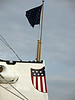 """Red, White and Blue at the bow of the USS Olympia - Hope everyone had a great Fourth of July!"" - Daily Photo - 07/05/13"