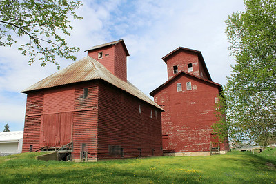"""Seneca Grain Elevator"" - Daily Photo - 07/24/13"