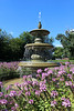 """Fountain at Sunken Gardens, Aurora, Illinois"" - Daily Photo - 10/26/13"