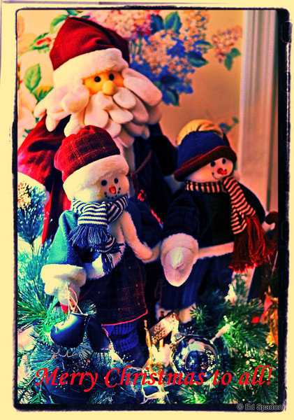 """Merry Christmas to you!""<br /> 12/23/09"