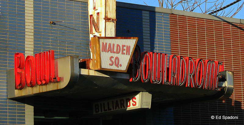 """""""The Malden Square Bowladrome is my version of sweet potato pie and applesauce!""""  Michael M., Brooklyn, NY<br /> 12/2/09<br /> This venerable old alley is still in operation after many, many decades."""