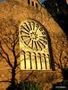 The last of the sun on the First Baptist Church<br /> 12/1/09