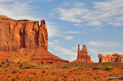 Monument Valley was one of John Wayne's and Director John Ford's favorite locations for filming westerns.  It's easy to see why.
