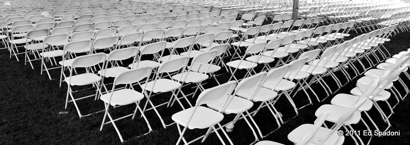 Ever get that empty feeling?<br /> POTD 5/15/2011<br /> <br /> Attended a college graduation yesterday.  Taken shortly after the last diploma was awarded.