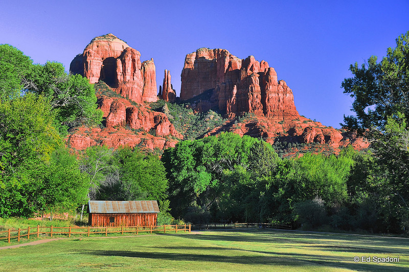 Cathedral Rock, Sedona, AZ<br /> <br /> <br /> Cathedral Rock is one of the most photographed sites in Arizona.
