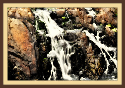 Cocheco Fall, Dover, NH Orton effect and frame added in Picnik POTD 8/18/2011  Our Friend and fellow Smugger Janet McQueen is the latest Featured Photog on our blog.  Please visit and get to know the real Janet!! http://wp.me/pasxa-Bm  [CTRL] click for new window, and thanks.