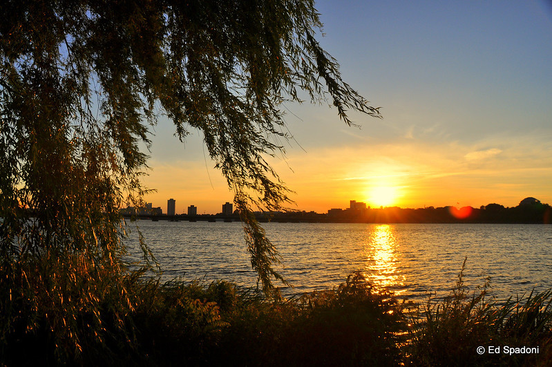 The golden hour on the Charles River<br /> 6/26/2010