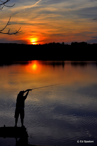 """The charm of fishing is that it is the pursuit of that which is elusive but attainable, a perpetual series of occasions for hope""  Unknown<br /> 4/8/10"