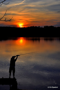 """The charm of fishing is that it is the pursuit of that which is elusive but attainable, a perpetual series of occasions for hope""  Unknown 4/8/10"