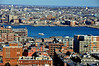 Boston Harbor<br /> 2/5/2010<br /> In the lower left of this image you can see the building that marks the entrance to the Callahan Tunnel, which was featured in my daily photo of 2/3.  Here is the harbor under which the Callahan and Sumner Tunnels run.  That's East Boston on the far side.<br /> <br /> Thank you for all the comments on yesterday's H.A. Hovey photo.