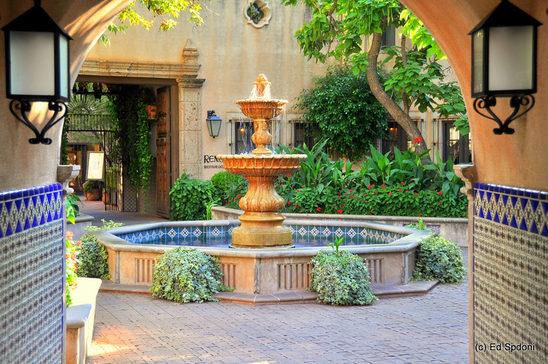 Courtyard in Tlaquepaque Village, Sedona, AZ
