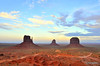 Sunset, Monument Valley