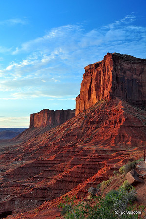 Sunrise on Elephant Butte, Monument Valley  This is a breath-taking place.  Everyone needs to see this.