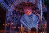 """Fantastic exhibition"" Xmas illumination in Lille (France)"