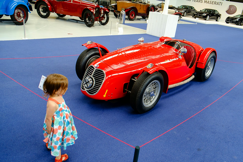 31-07-2014: Girls always love beautiful cars...