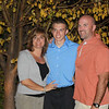 November 3, 2011<br /> <br /> Alex's best friend Brady with his mom and dad- really one of the nicest families