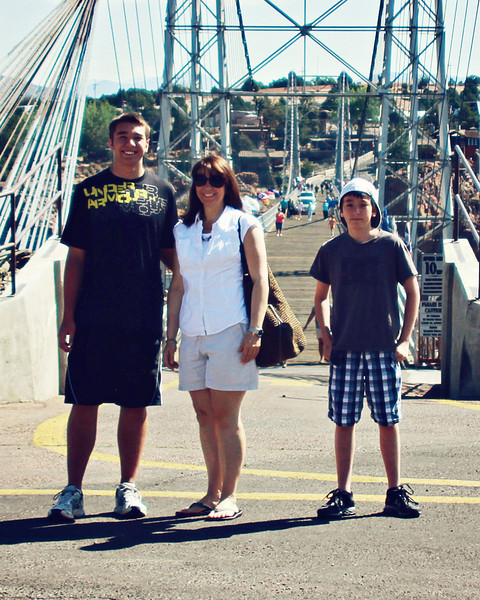 July 8, 2011<br /> <br /> Our trip to the Royal Gorge, now I know why I always where high heels, I'm getting shorter!