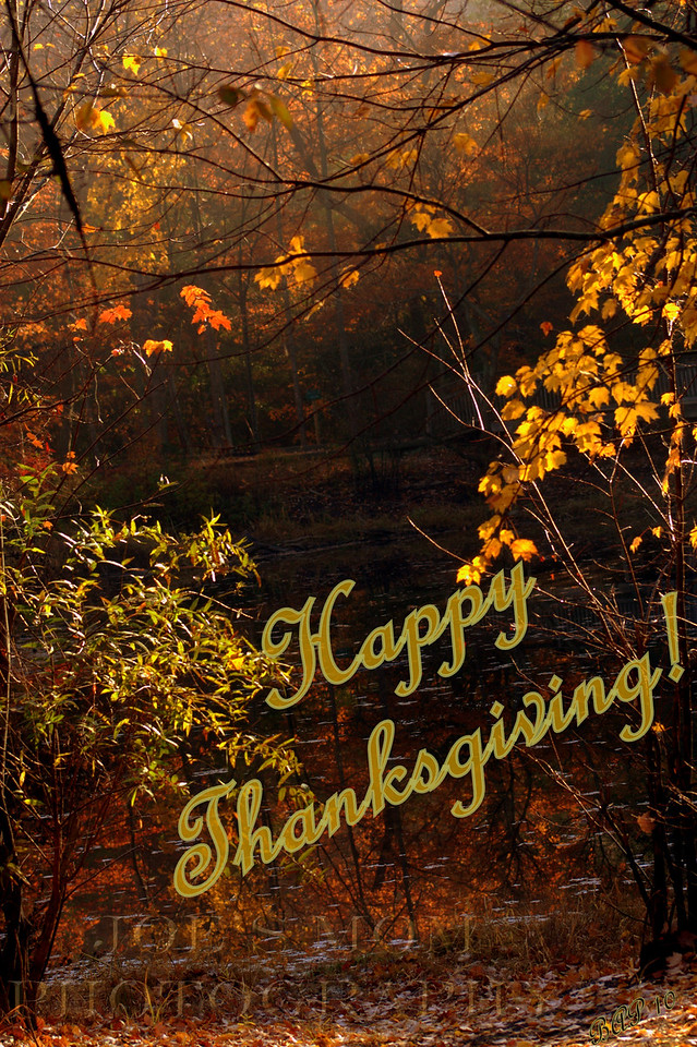 Happy Thanksgiving to all!!