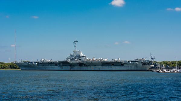 December 29, 2017 -- USS Yorktown