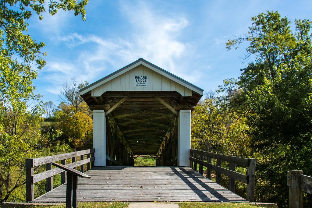 Friday, August 14, 2015 - Rinard Covered Bridge
