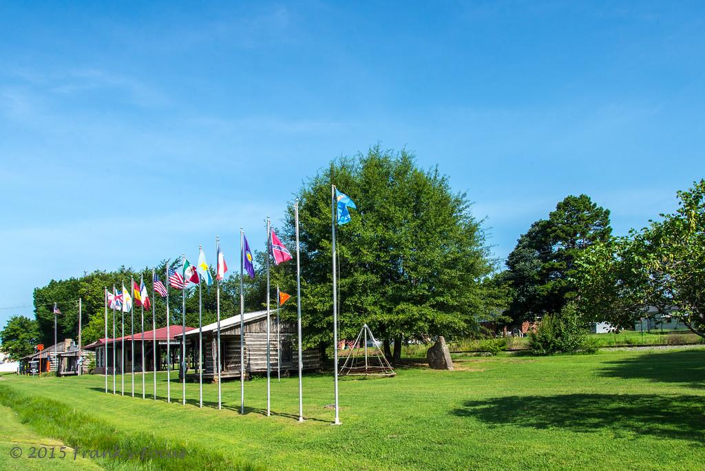 Tuesday, August 11, 2015 -- Oklahoma's 14-Flag Museum