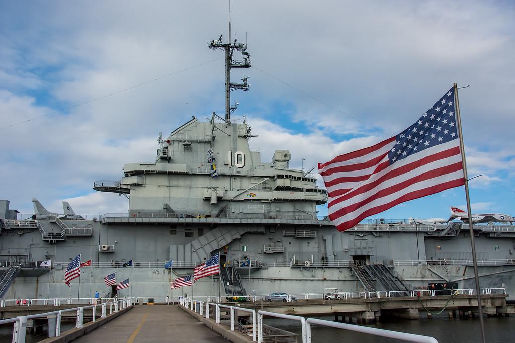 Saturday, February 14, 2015 -- USS Yorktown