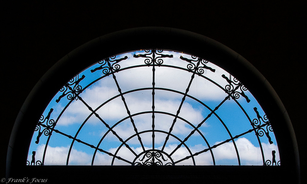 August 8, 2016 -- Blue Sky Beyond the Glass