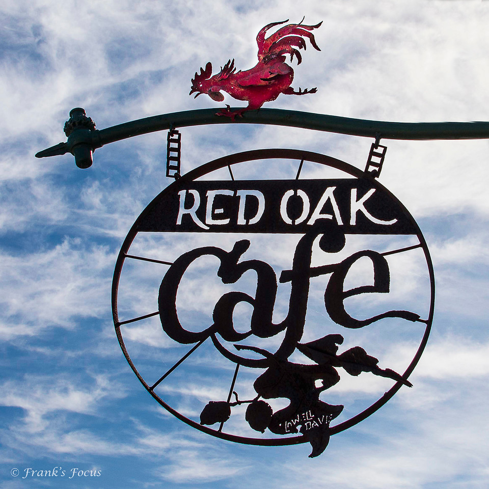 May 13, 2017 -- Red Oak Cafe