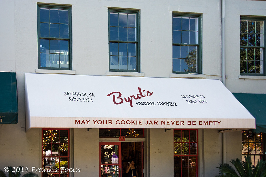 April 20, 2014 -- Byrd's Famous Cookies in Savannah, GA