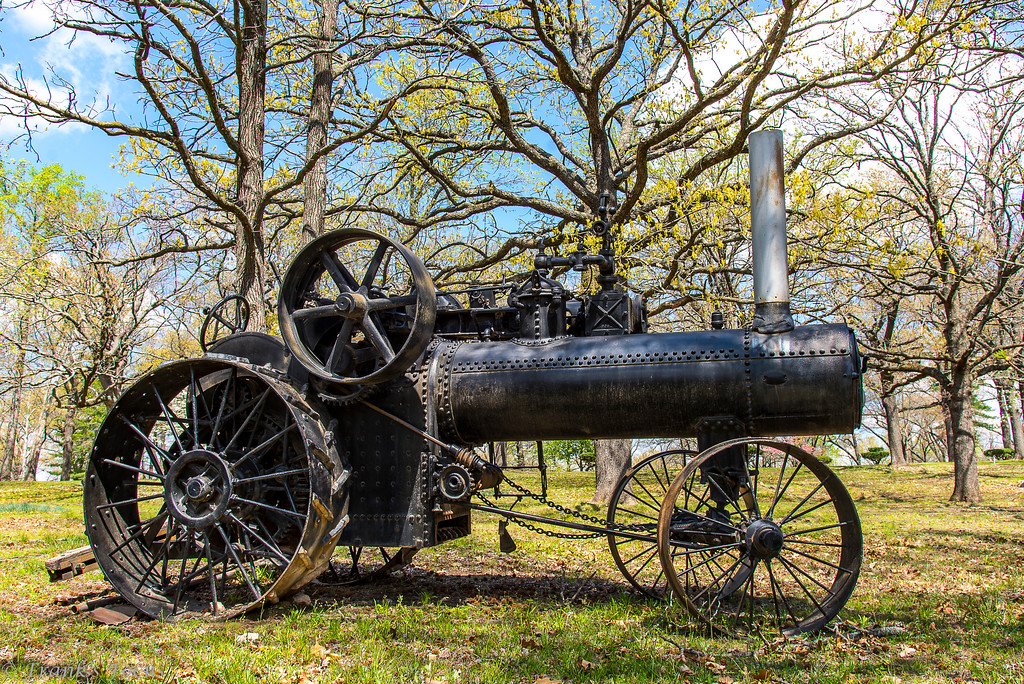 May 22, 2017 -- Steam Tractor