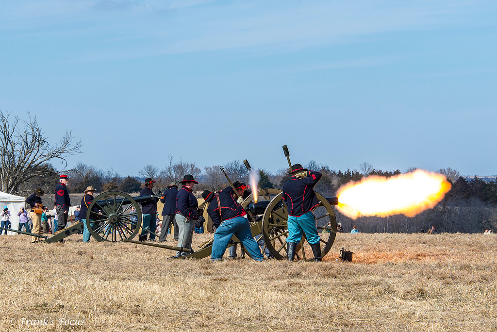February 23, 2017 -- Cannon Fire