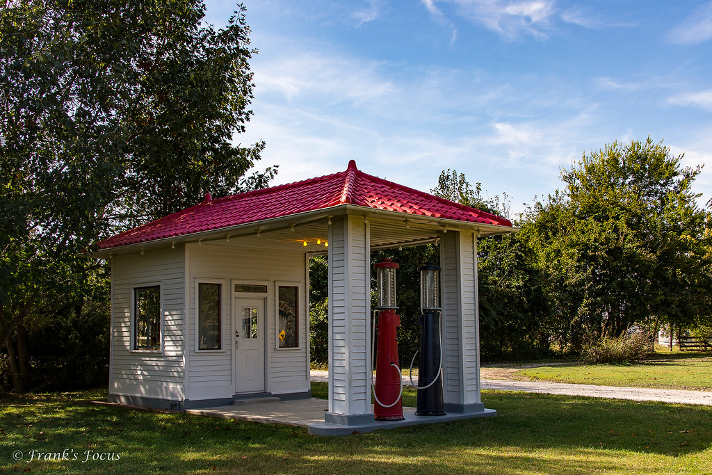 May 12, 2017 -- Old Gas Station (replica)