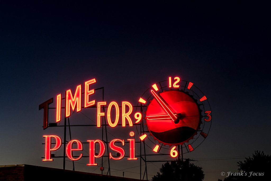 August 16, 2017 - Time for Pepsi
