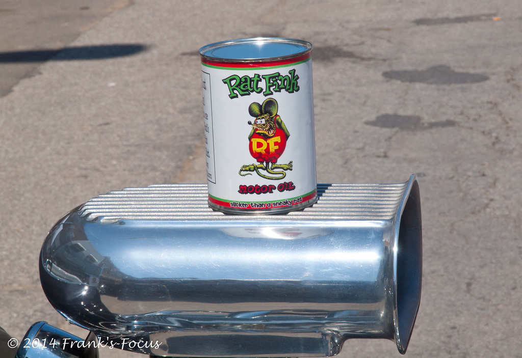 April 29, 2014 -- Rat Fink Motor Oil -- Slicker than a sneaky rat!