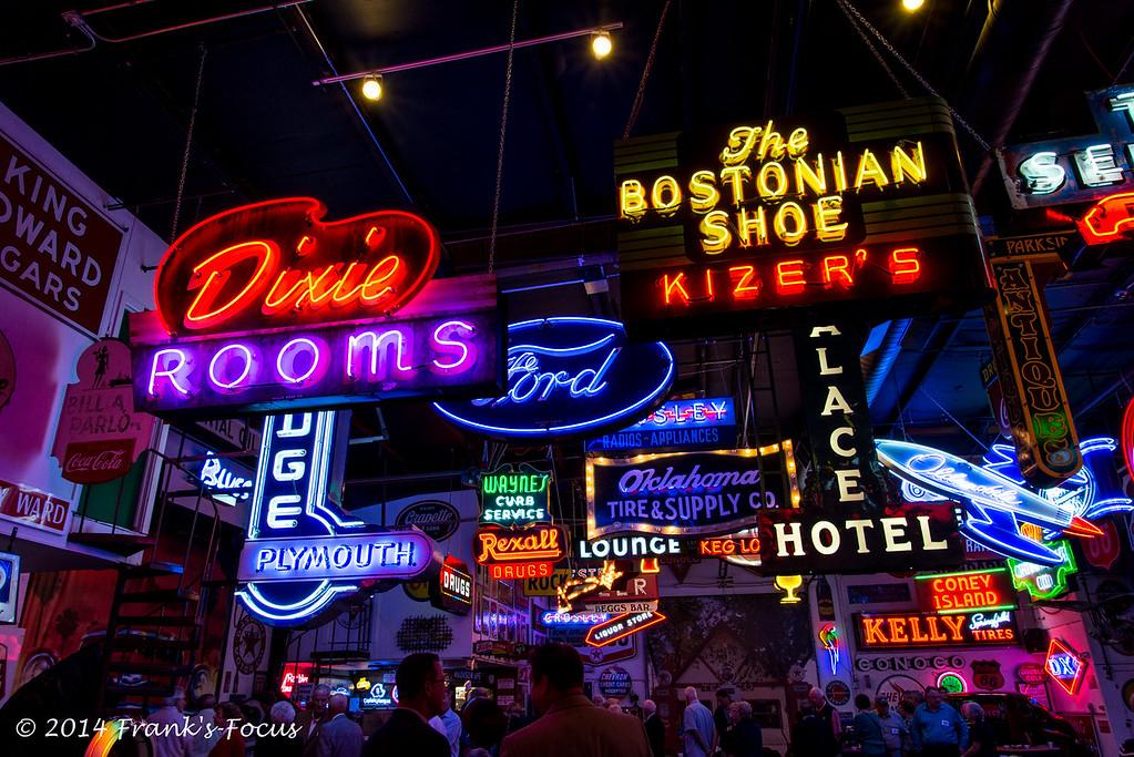 Wednesday, 12-17-2014 -- Neon, Anyone?