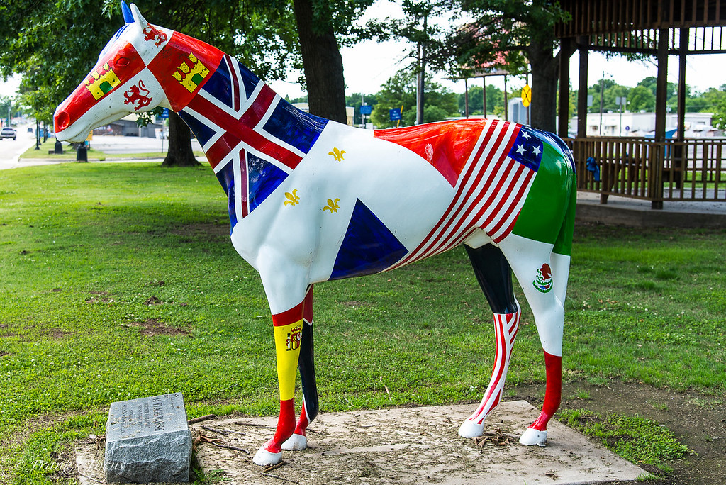 August 15, 2016 - The 14-Flags Horse