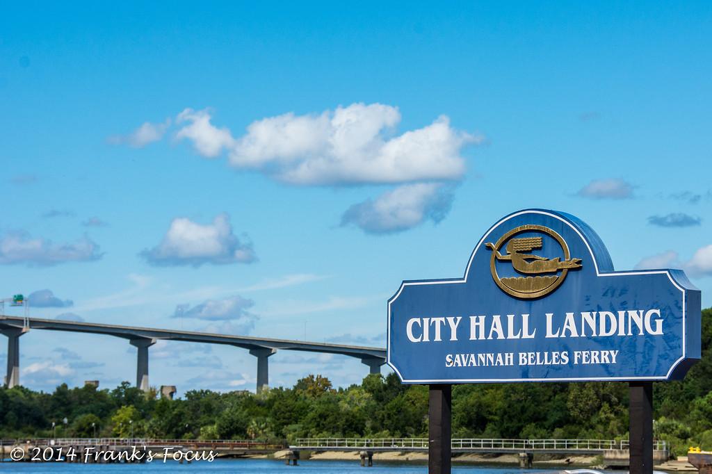 April 16, 2014 -- City Hall Landing, Savannah, GA