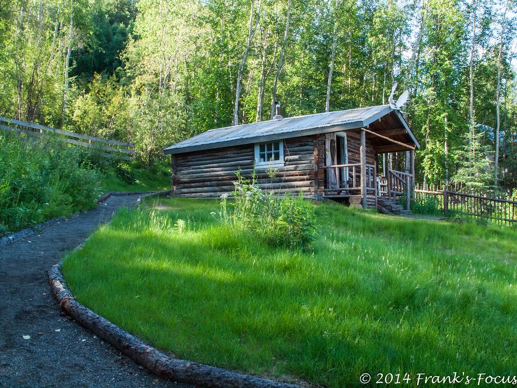 Sunday, March 6, 2016 -- Robert Service Cabin