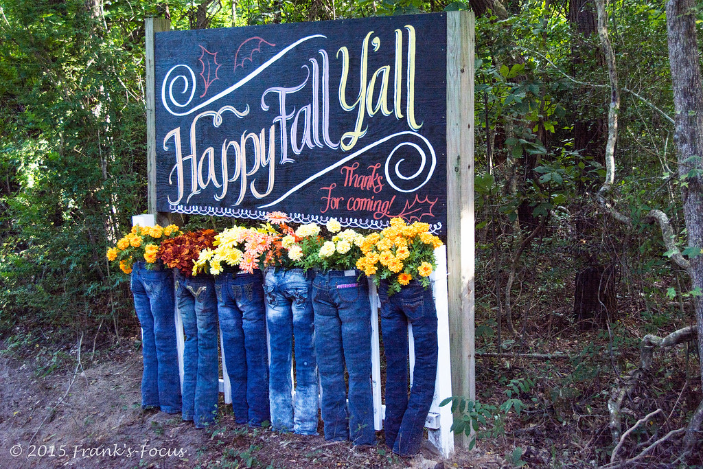 Wednesday, September 23, 2015 -- Happy Fall Y'all