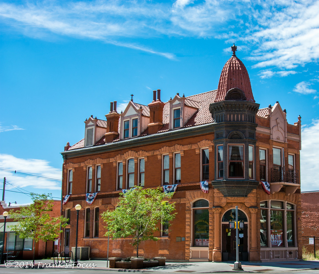 Friday, September 5, 2014 -- Historic Tivoli Building in Cheyenne, WY