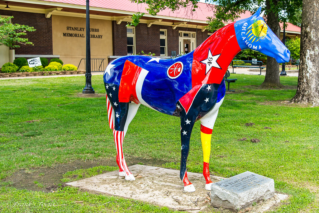 August 14, 2016 -- The 14-Flags Horse